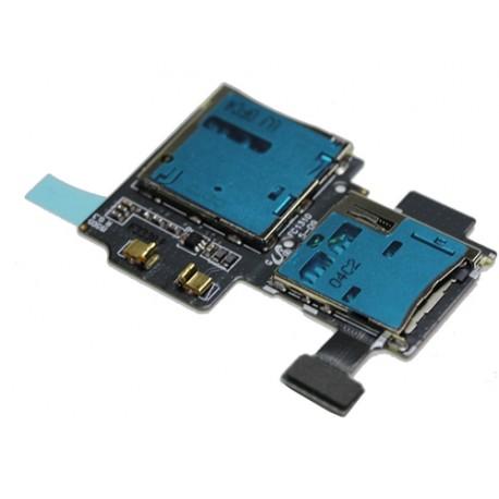 SAMSUNG i9505 - Καλωδιοταινία - Sim/Memory Card Reader Flex Original * GO TO SP87520*