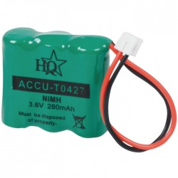ACCU-TO427 3.6V 280mAH NIMH ΜΠΑΤΑΡΙΑ