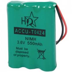 ACCU-TO424 3.6V 550mAH AAA NIMH UNIVERS