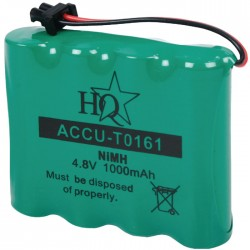 ACCU-TO161 BLISTER 4.8V 1000MAH