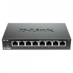 D-LINK DES-108 8-Port Fast Ethernet Unmanaged Desktop Switch