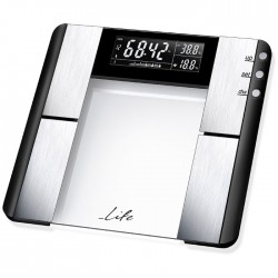LIFE BSC-101 Body fat scale,glass & inox surface
