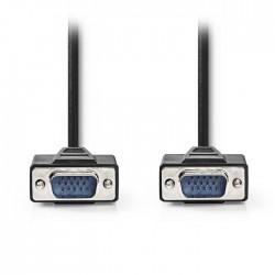 NEDIS CCGP59000BK300 VGA Cable, VGA Male - VGA Male, 30m, Black