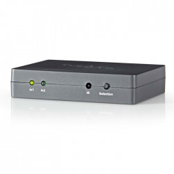 NEDIS VSWI3402AT HDMI Switch 2-port, 2x HDMI input -1x HDMI ouput