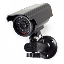 NEDIS DUMCBS10BK Dummy Security Camera, Bullet, IP44, Black