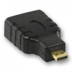 NEDIS CVGP34907BK HDMI Adapter, HDMI Micro Connector - HDMI Female,| Black