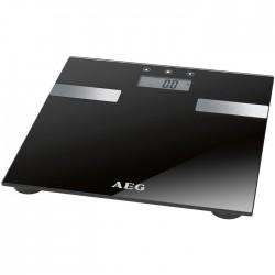 PW 5644 BLACK AEG Ηλεκ/νική γυάλινη ζυγαριά μπάνιου 206537