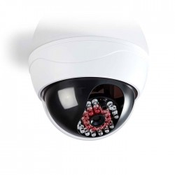 NEDIS DUMCD20WT Dummy Security Camera, Dome, IP44, White