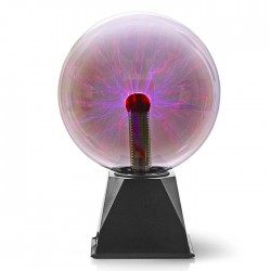 NEDIS FUDI215BK Plasma Light Ball, 10 W, 3500 lm, Glass, 20 cm