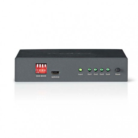 NEDIS VSPL3404AT HDMI Splitter, 4-port - 1x HDMI, input | 4x HDMI ouput