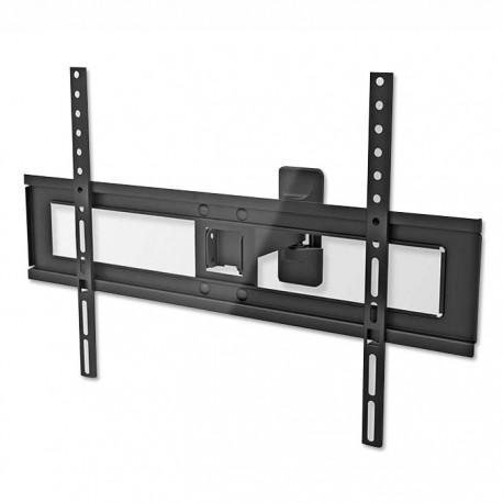 """NEDIS TVWM1450BK Full Motion TV Wall Mount, 37-70"""", Max 35 kg, 2 Pivot Points"""