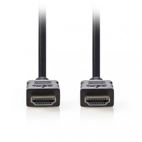 NEDIS CVGP34000BK15 High Speed HDMI, Cable with Ethernet, HDMI Connector - HDMI