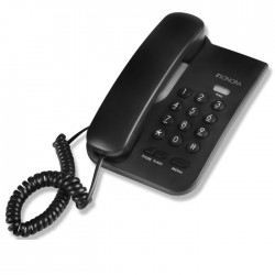 SONORA CP-001 CORDED PHONE BLACK