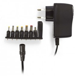NEDIS ACPA011 Universal AC Power Adapter, 5 VDC, 2.5 A USB
