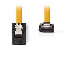NEDIS CCGP73255YE05 SATA 6Gb/s, SATA 7-pin Female with Lock - Female 90° Angled