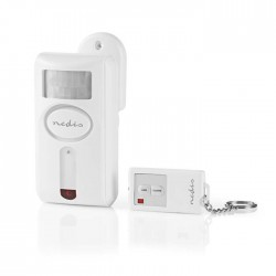 NEDIS ALRMMW30WT Security Motion Alarm, Remote Alarm/Chime, Remote On/Off