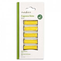 NEDIS VCFS110LEM Vacuum Cleaner Fragrance Sticks, Lemon, 5 pieces