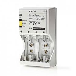 NEDIS BACH06 NiMH Battery Charger AA/AAA/E-Block