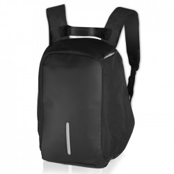 """NOD CitySafe 15.6"""" Black Edition LBP-201 Backpack for laptop up to 15.6,black &"""