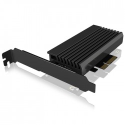 ICY BOX IB-PCI214M2-HSL PCIe CARD WITH M.2 M-KEY SOCKET FOR ONE M.2 NVMe SSD /60