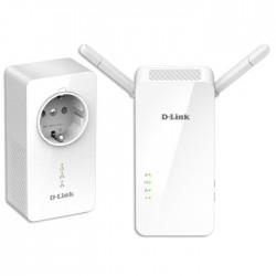 D-LINK DHP-W611AV POWERLINE AV2 1000 Wi-Fi AC1200 STARTER KIT