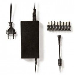 NEDIS ACPA016 Universal AC Power Adapter, 5/6/7/8/9/10/11/12 VDC, 5.0 A - 5.2 A