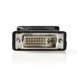 NEDIS CCGP32900BK DVI - VGA Adapter, DVI-I 24+5-Pin Male - VGA Female