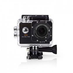 NEDIS ACAM40BK Action Cam, Ultra HD 4K, Wifi , Waterproof Case