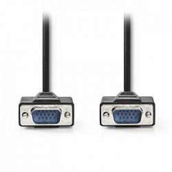 NEDIS CCGP59000BK30 VGA Cable VGA Male-VGA Male 3.0 m Black