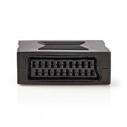 NEDIS CVGP31950BK SCART Adapter SCART Female-Female Black