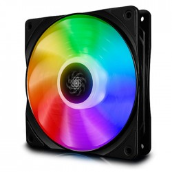 DEEPCOOL CF120 SINGLE RGB COOLING FAN 120mm BLACK