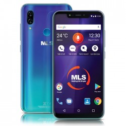 MLS MX NOTCH 4G BLUE DUAL SIM