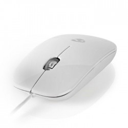 NEDIS MSWD200WT Wired Mouse 1000 DPI 3-Button White