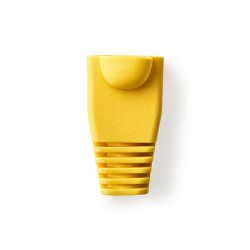 NEDIS CCGP89900YE Yellow Strain Relief Boot For RJ45 Network Connectors-10 piece