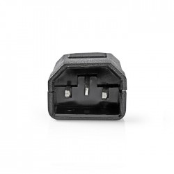 NEDIS PPGP11806BK Power Socket IEC-320-C14 Black