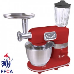 THOMSON THFP06733R STAND MIXER 1000w WITH BLENDER SET