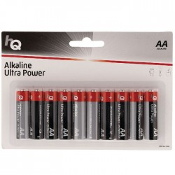 HQLR6/10ΤΕΜ  BLISTER Alkaline AA battery