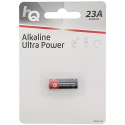 HQ23A/1BL  Alkaline 23 A battery 1-blister