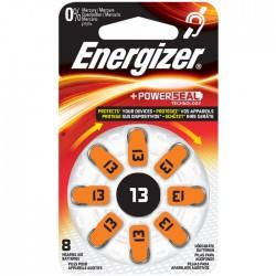 ENERGIZER ZINC AIR 13-8P/8ΤΕΜ HEARING AID BATTERY F016163