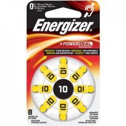 ENERGIZER ZINC AIR 10-8P/8ΤΕΜ HEARING AID BATTERY      F016164