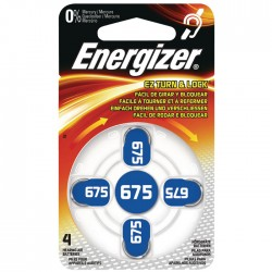 ENERGIZER ZINC AIR 675-4P/4ΤΕΜ HEARING AID BATTERY  F016166