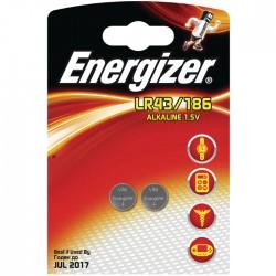 ENERGIZER LR43/2ΤΕΜ ALKALINE COIN