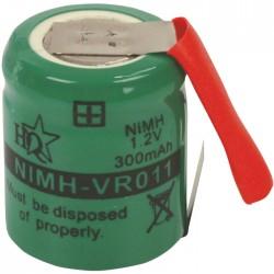 NIMH-VR 011  1.2V 300mAH ΜΕ ΛΑΜΑΚΙΑ