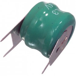 NIMH-60/2 2.4V 60mah ΜΠΑΤΑΡΙΑ