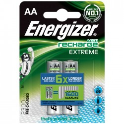 ENERGIZER AA-HR6/2300mAh/2TEM EXTREME RECHARGEABLE