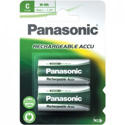 PANASONIC P-14P 3000/2ΤΕΜ RECHARGEABLE NI-MH 1.2V 3000mA