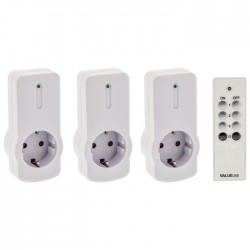 VLW SOCKET 03 Remote-control socket 3 PACK