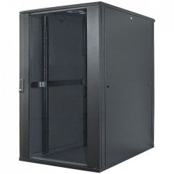 "INT 713078 FLATPACK 19"" 22U (1120x600x600) NETWORK RACK BLACK"