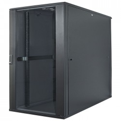 "INT 713085 FLATPACK 19"" 22U (1120x600x800) NETWORK RACK BLACK"