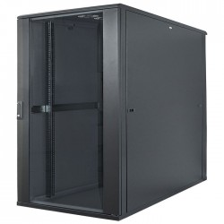 "INT 713085 ASSEMBLED 19"" 22U (1120x600x800) NETWORK RACK BLACK"
